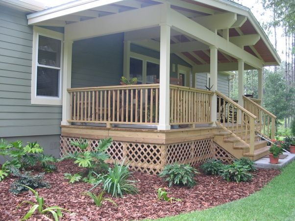 48 best exterior front porch images on pinterest for Craftsman style front porch