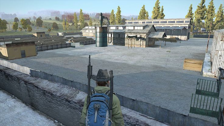 View from the school in Berezino. #DayZSA