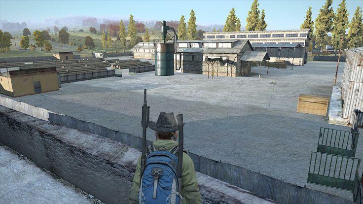 View from the school in Berezino. #DayZSA