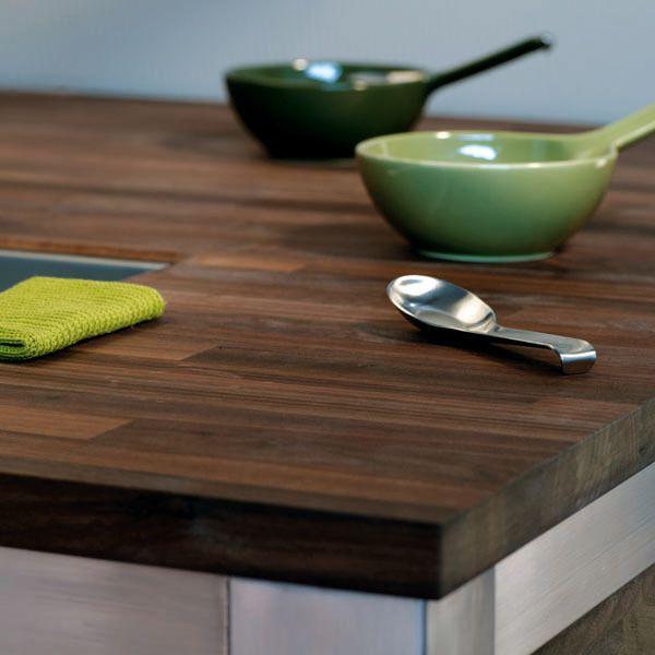 Massief Edelhout - kitchen worktop (Noten)