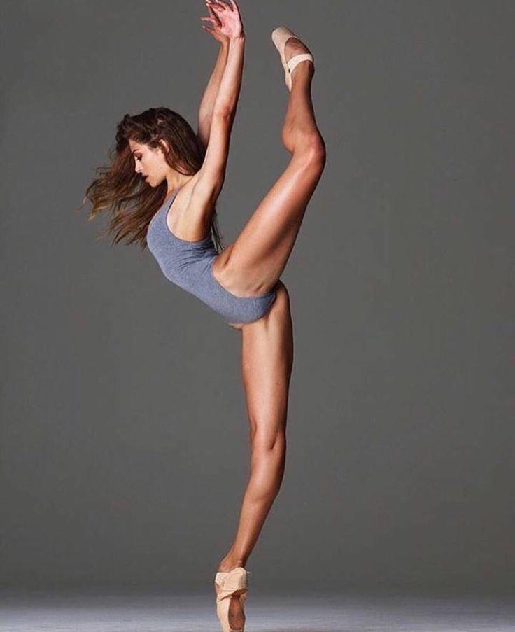 Incredible combination of Strength and Balance.  Ballet, Yoga, Dance.