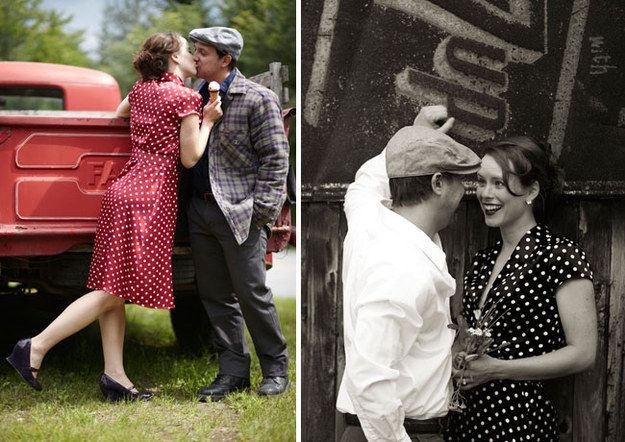 """The Very Best In """"Notebook""""-Themed Engagement Photos"""