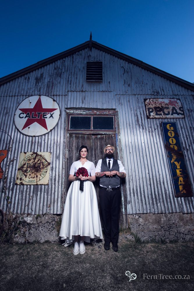 Its edgy and different. New age wedding photography.
