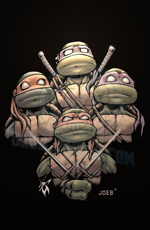 Teenage Mutant Ninja Turtles - Mutant-Rhapsody by skulljammer.deviantart.com on @deviantART