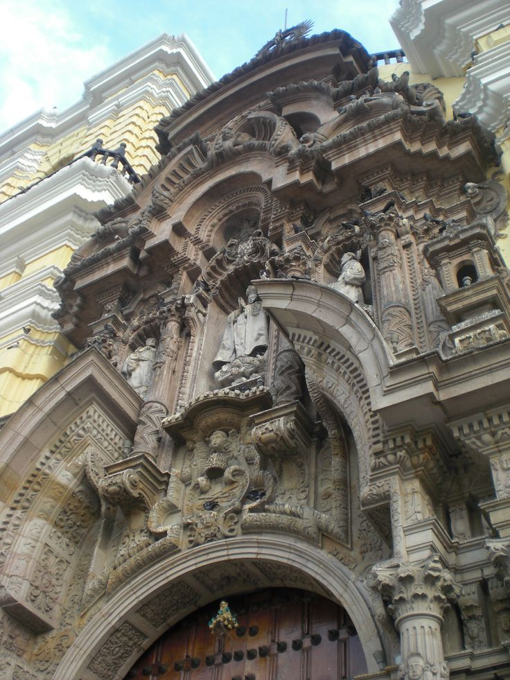 Cathedral of Lima Catedral de Lima Peru