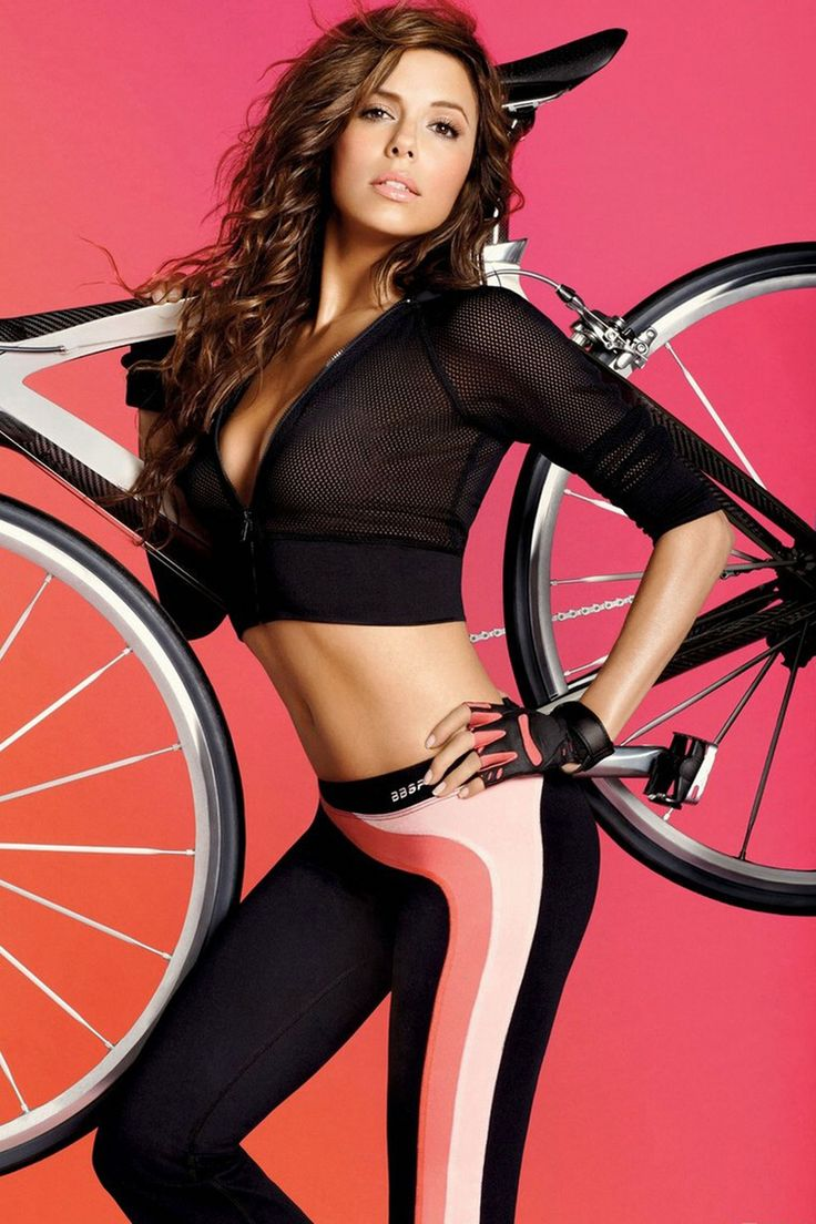 eva Longoria_bebe bicycle