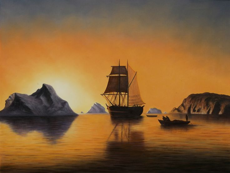 Arctic Scene Painting- $299.00 (Retail $749.00)