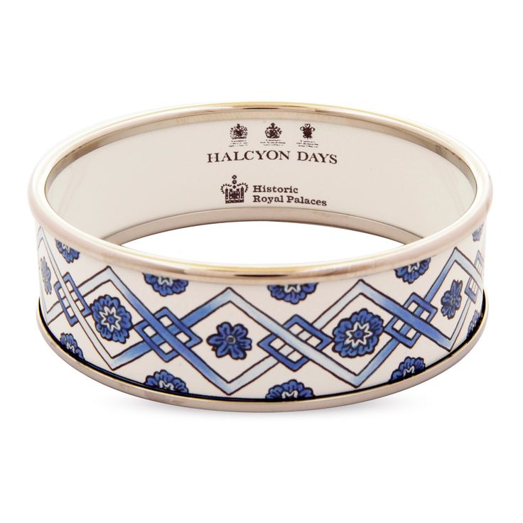 Our hand painted Delft design bangle
