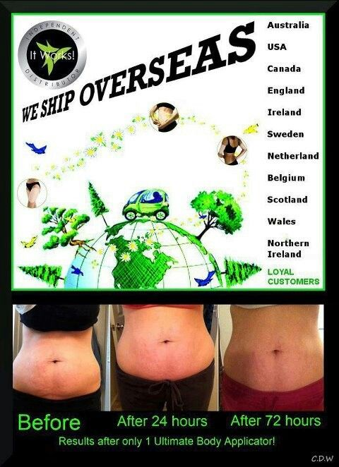 Yes we ship over seas! Looking for 10 people to try our Ultimate Body Applicator (WRAPS) at WHOLESALE PRICE for 90 days!   You Get Items at Wholesale pricing For THREE Months, get a $10 product credit...  Wholesale price is $59/month. You would wrap once a week for 12 weeks! First 10 people that order TODAY will get wholesale pricing! Inbox me or Call/Text (575)399-0888 and I will follow you through ordering! SEE YOUR RESULTS IN AS LITTLE AS 45 MINUTES AND PROGRESSIVE RESULTS WITHIN 72…