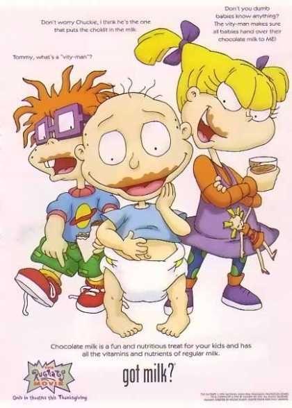 Rugrats Kids- GOT MILK (1998)