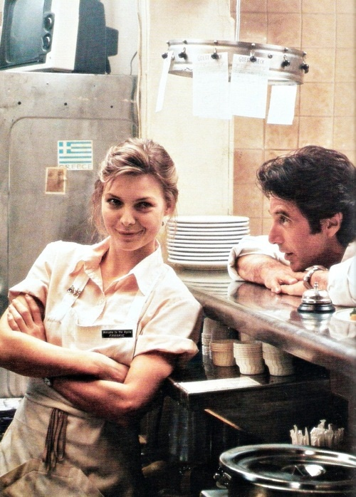 Frankie and Johnny (1991), cinta protagonizada por Michelle Pfeiffer y Al Pacino.