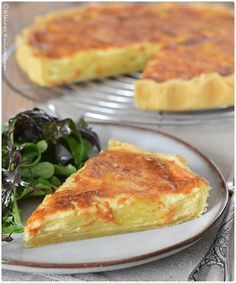 Kartoffeltarte - sehr lecker und perfekt für warme Sommertage (Vegan Casserole Zucchini)