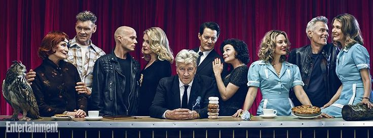 Twin Peaks Cast 2017 - Series 3 - 25 years later