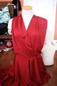 Sew Like My Mom | Infinity Dress tutorial