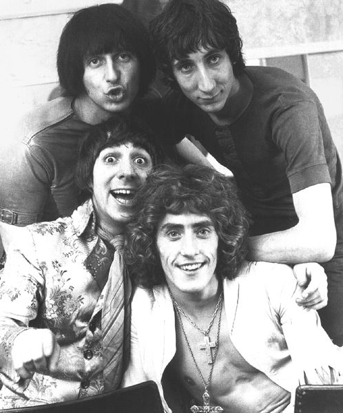 Keith Moon was a legendary drummer, Pete is a guitar god, the might Ent on base, and Roger on the mic...