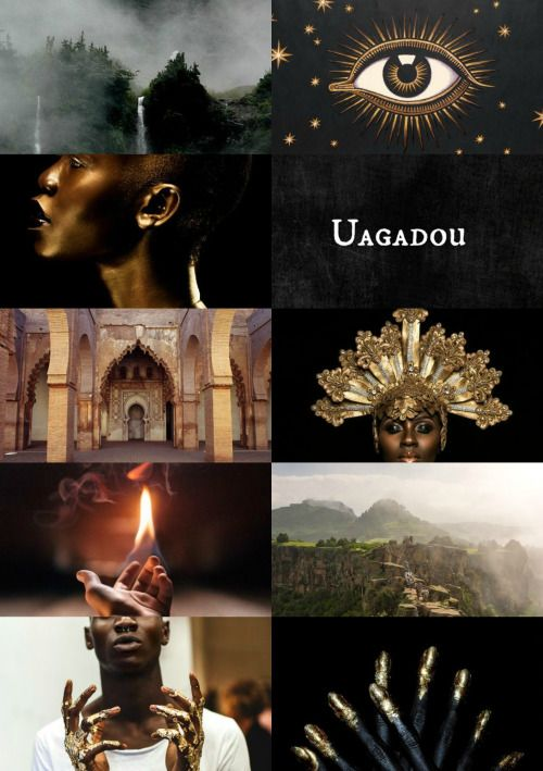"""wizarding schools around the world:  Uagadou School of Magic #1: """"Although Africa has a number of smaller wizarding schools, there is only one that has stood the test of time (at least 1000 years) achieving an enviable reputation. The largest of all wizarding schools, Uagadou welcomes students from all over the  continent. The only address ever given is 'Mountains of the Moon'; visitors speak of a stunning edifice carved out of the mountainside and shrouded in mist, appearing to float in…"""
