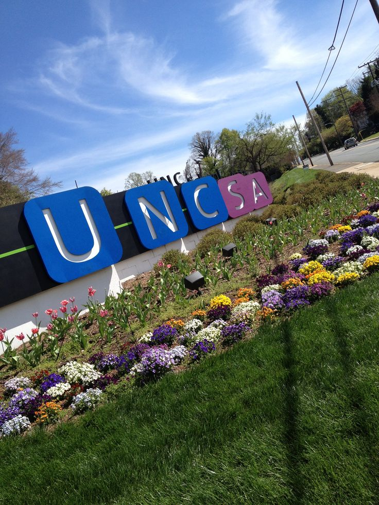 UNCSA formerly known as North Carolina School of the Arts