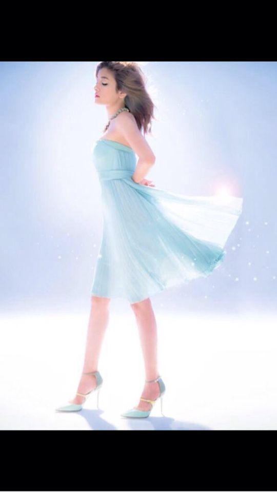 少し海月っぽいドレスだね