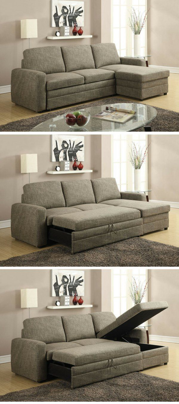 Check Out The Derwyn Sleeper Storage Sectional Sofa @istandarddesign