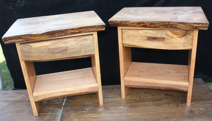 End Tables made from Solid White Pine