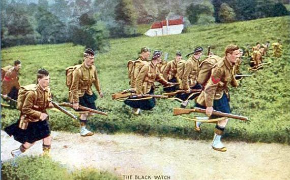 Army Picture The Black Watch