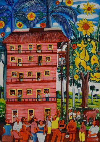 12 Plantas by Julio Breff   #12plantas #12floors #juliobreff #apartment #cubanart #cuba #miami #coralgables #coconutgrove #miamibeach #art #beauty #blue #black #urbaniza #urbanizastudiogallery #buyart #buyartonline
