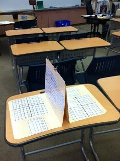 I love this idea of using File Folders! The Teacher Who Hated Math: Lovin' My Stations!