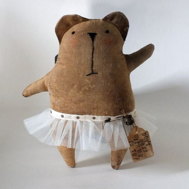 great tutu wearing bear..  ..by..Shelagh Pickford  ..  and if you haven't already...check out fellow tutuwearer Bob on the FTC lost & pound board..  xx