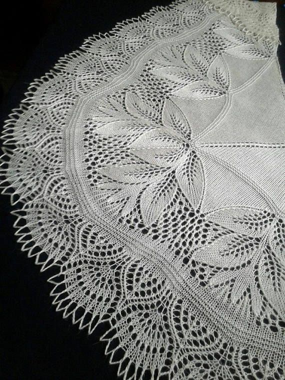 Wedding Warm Shawl in natural white Goat-down with silk blend