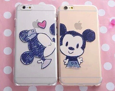 Mickey and Minnie phone cases