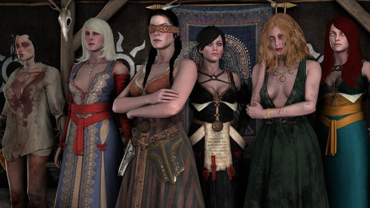 The Witcher 3: The Lodge of Sorceresses by ShittyHorsey on DeviantArt