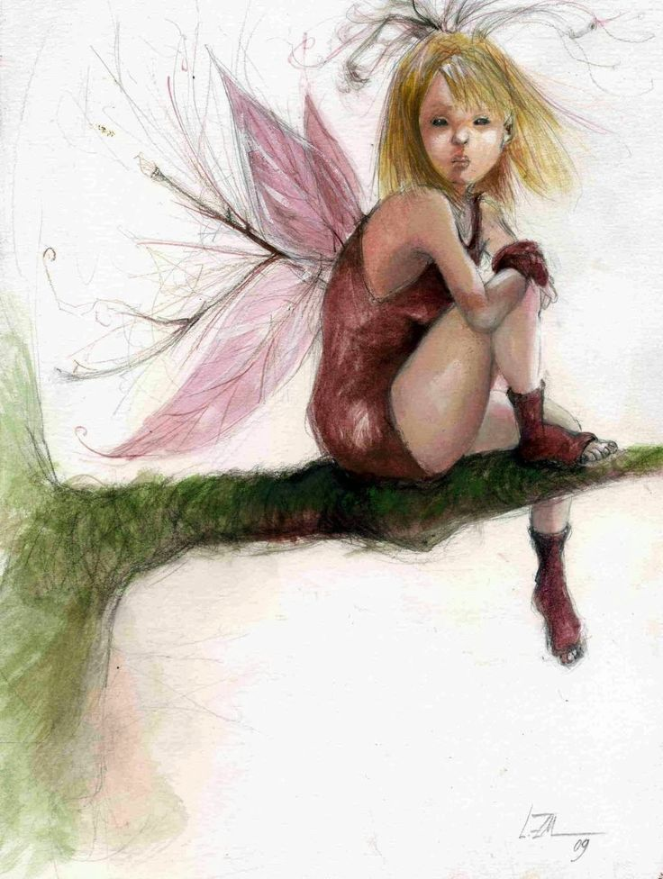 ещё наруто картинки с феями и эльфами при более