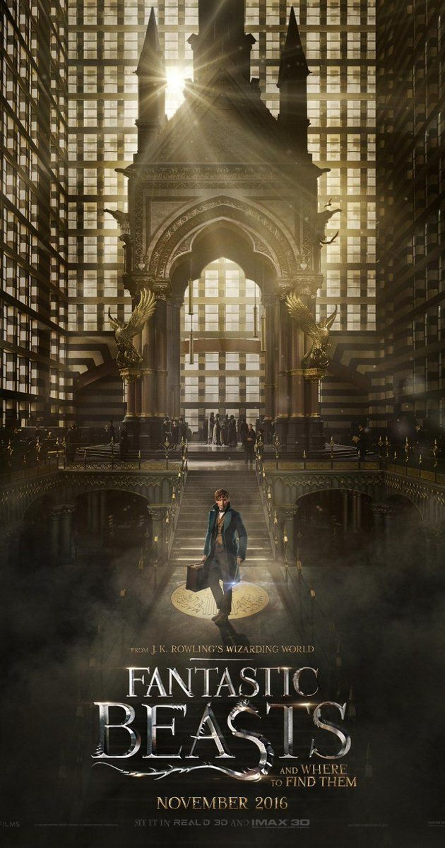 Directed by David Yates.  With Ezra Miller, Eddie Redmayne, Colin Farrell, Ron Perlman. The adventures of writer Newt Scamander in New York's secret community of witches and wizards seventy years before Harry Potter reads his book in school.