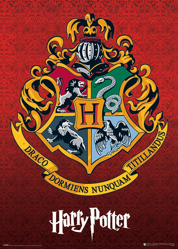 Harry Potter metallisches Plakat