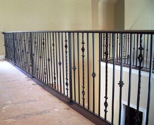 interior wrought iron railings | Interior Railing #12