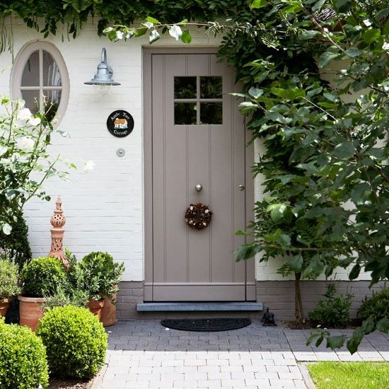 Make a stylish entrance with a smart front door