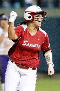 Lauren Chamberlain, Possibly softball's best hitter of all time.