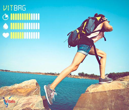 Introduzimos a Vitbag, a mochila ultraleve que repõe os teus níveis de hidratação. Com autonomia de 3 a 5 dias.  Feliz Dia das Mentiras!