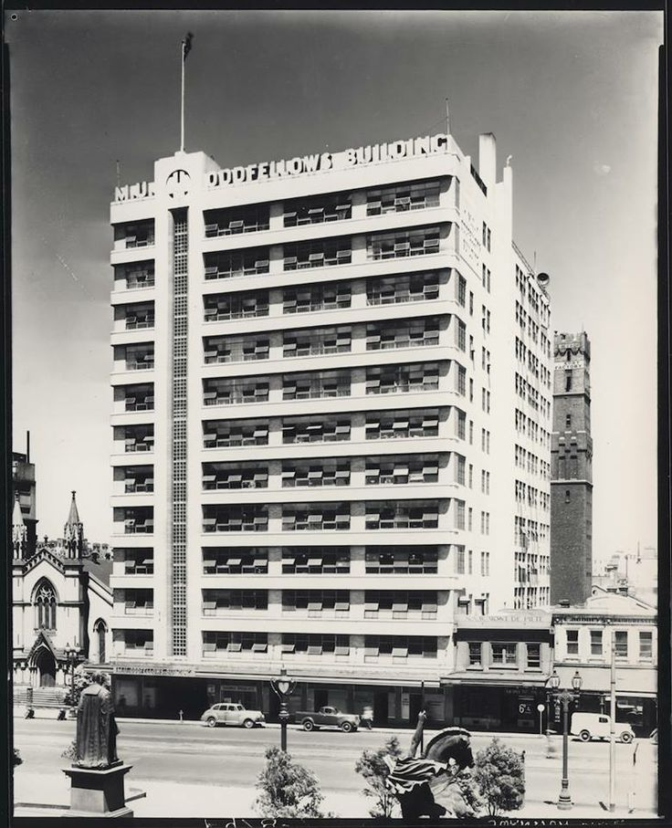 The current site of Melbourne Central