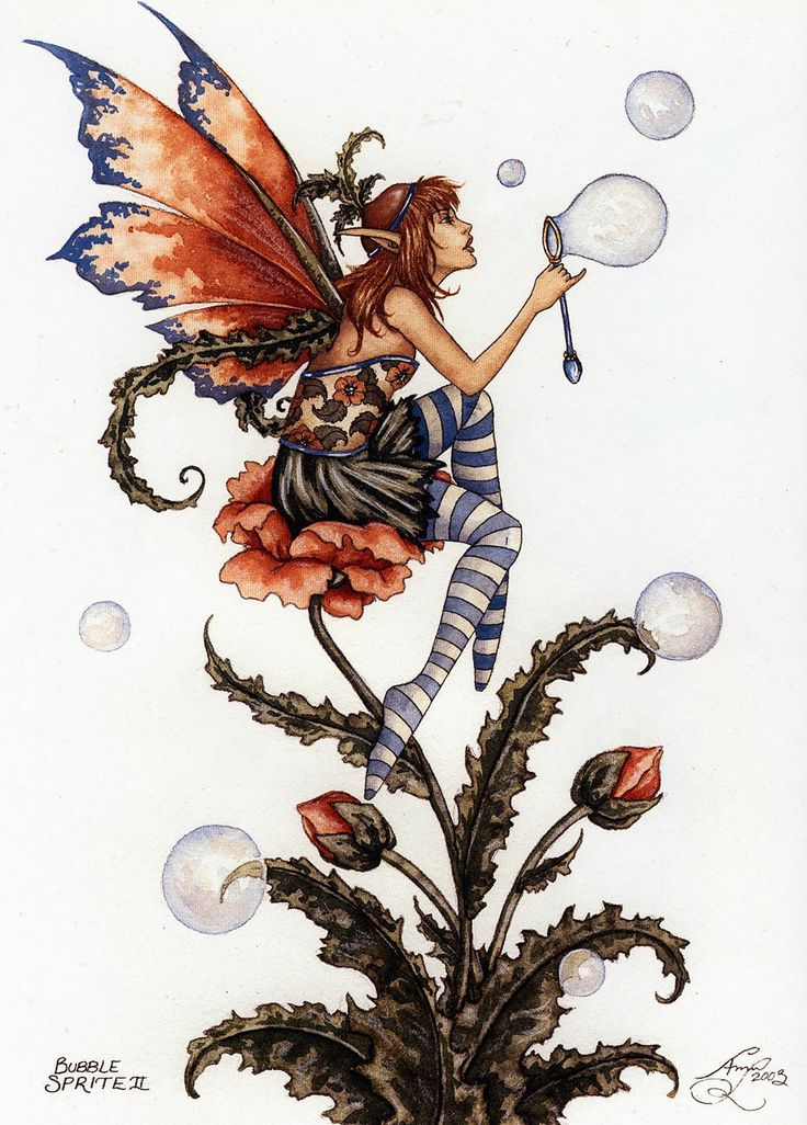 Amy Brown ~ Forest Spirit
