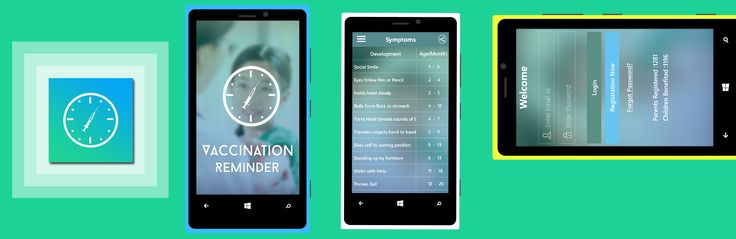 """A Child Care App """"Vaccination Reminder"""" is Now Available on Windows Store!"""