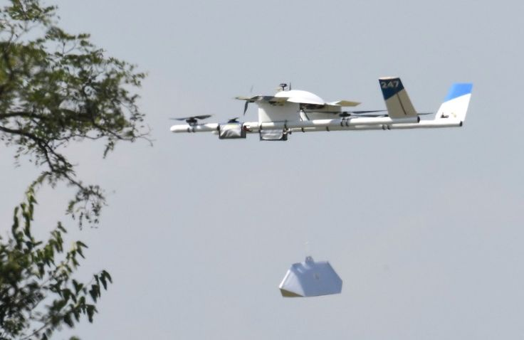 Watch Google's Burrito Delivery Drone in Action *angels singing*