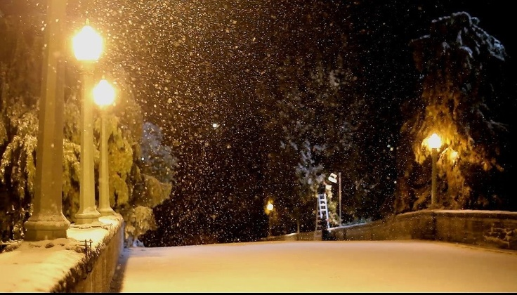 Snow in Aug 2
