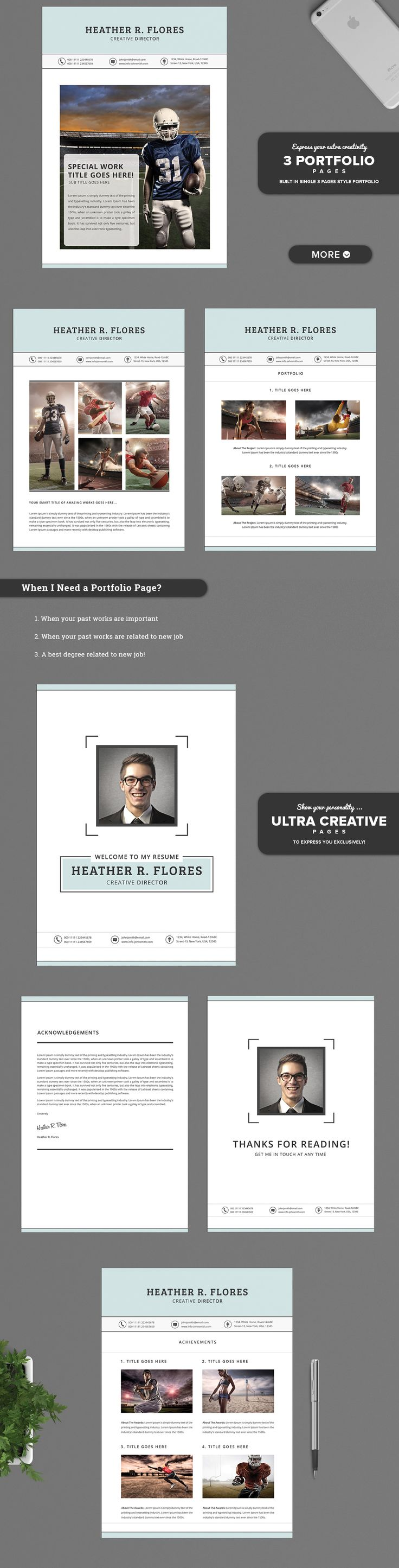 16 Best Resume Images On Pinterest Resume Cv Professional