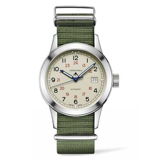 Longines - Longines Heritage Military COSD | New watches | WorldTempus