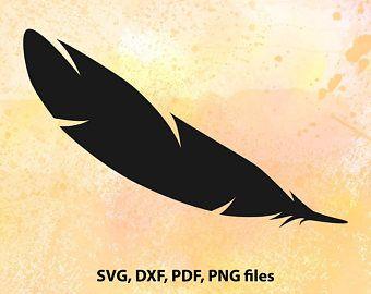 Feather SVG File   Feather Cricut SVG   Feather Cut File   Feather Clipart SVG   Feather Silhouette Svg   Feather Vector Svg   Feather Dxf