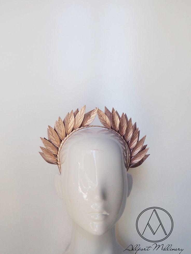 Dawn Till Dusk - Rose Gold / Allport Millinery
