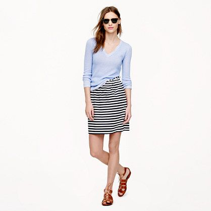 City mini in ripstop cotton - skirts - Women's new arrivals - J.Crew