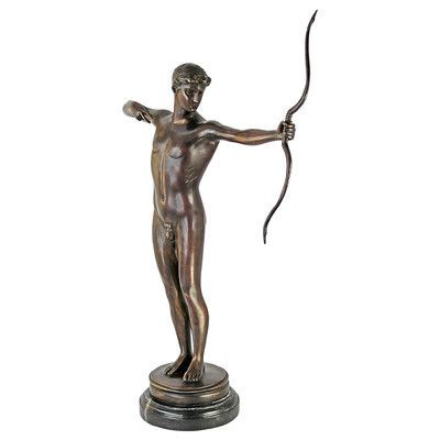 Design Toscano Teucer the Archer Cast Statue