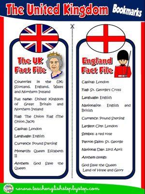 The United Kingdom - Bookmarks
